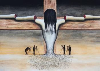No. 16. The Modern Crucifixion